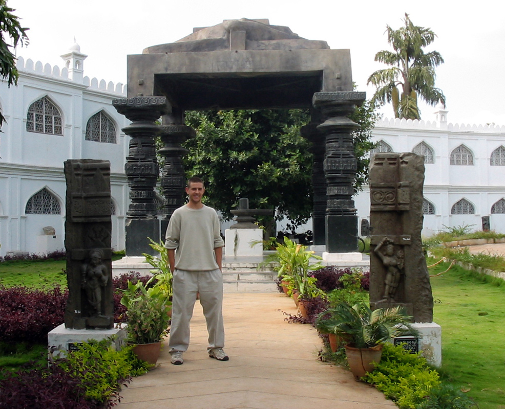 Steve Maraspin in Hyderabad, India